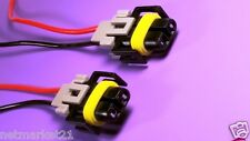 2x H8 H9 H11 Wiring Harness Socket LED Connector Plug for HID Head Fog light