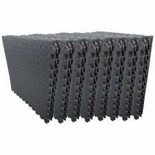 48 Interlocking Soft Foam Mats 192 Square Foot Gym Excercise Garage Office House