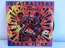 THE BEATMASTERS with PP ARNOLD Burn it up 90462