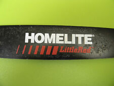 "ORIGINAL HOMELITE CHAINSAW XEL XL SUPER 2 200 240 180 192 XL2 245 12"" BAR .050"