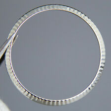 Genuine Rolex 14K White Gold Fluted Bezel 36MM Datejust 1600 1601 1603 16014