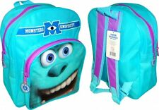 Disney Monsters University » Sulley « Pvc bolsillo frontal de la escuela Bolsa Mochila Backpac