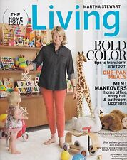 MARTHA STEWART LIVING September 2012 -- The Home Issue, Bold Color, Makeovers