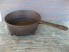 "Antique Skillet 3-Leg Spider Cast Iron Primitive 8"" Pot Frying Pan, Gatemark"