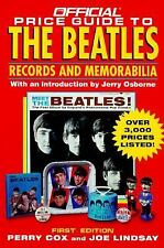 The Official Price Guide to the Beatles : Records and Memorablia by Joe...