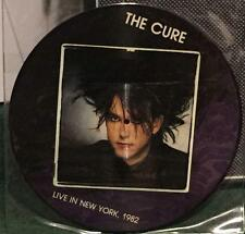 (PICTURE DISC) THE CURE - LIVE IN NEW YORK 1982 (RARE UK)