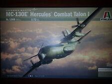 "LOCKHEED MC-130E HERCULES ""COMBAT TALON I""  ITALERI 1/72 PLASTIC KIT"
