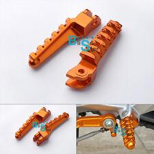 CNC Foot Pegs Pegals Rest Brackets Pillion Hangers For KTM RC 125 200 390 EV