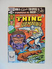 Marvel Two in one the thing Sub-Mariner nº 81 us Marvel Comics Group estado 1 -