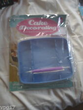 DeAGOSTINI CAKE DECORATING  MAGAZINE FLUTING VEINING TOOL BOX    No 10  NEW