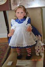 """Lee Middleton L'Innocence """"Alice in Wonderland"""" in original box with COA"""