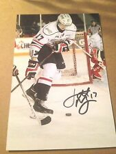 Jarrett Meyer SIGNED 4x6 photo OWEN SOUND ATTTACK