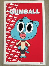 The Amazing World of Gumball poster print