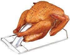 Turkey Infusion Roaster Outdoor Barbecue Grill Chicken Cooker Accessory New
