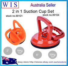 PK of 2 Dent Puller Remover Suction Cup Car Glass Metal Sucker Clamp Lifter Load