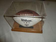 OAKLAND RAIDERS AUTOGRAPHED TEAM FOOTBALL SIGNED NFL 1989 BO JACKSON TIM BROWN