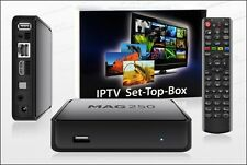 MAG 250 BOX Multimedia player Internet TV Box IPTV