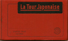 BRUSSELS : POSTCARD BOOKLET - Le Pavillon Chinois -10 cards-DESAIX