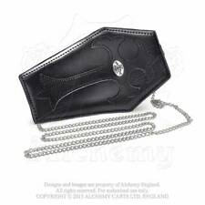 Alchemy Gothic COFFIN PURSE - SMALL BAG / Large Coin Purse NEW / LEATHER ITEM