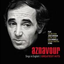 Charles Aznavour - Sings In English Greatest Hits NEW CD