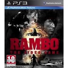 Rambo the Video Game (Move Compatible) PS3 - Brand new!