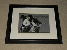 "Framed Bruce Springsteen Born to Run Mini-Poster, 14"" by 17"" Clarence Clemons"