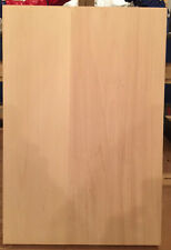 GUITAR BLANK OLD EUROPEAN LINDEN 2 PC. WITH FULL SIZE TELE THINLINE GUITAR PLAN