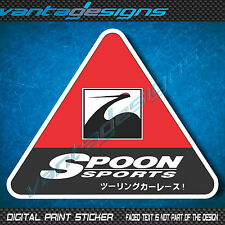 'SPOON SPORTS' JDM Car Sticker Decal for Drift Race or Show