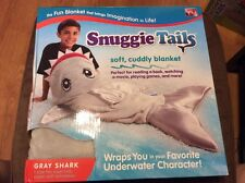 Snuggie Tails Gray Shark As Seen on TV NEW IN BOX