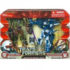 Transformers LA VENDETTA DEL CADUTO Master of metallikato Twin Pack RARA Colle.