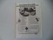 advertising Pubblicità 1977 HEUER MICROSPLIT 430/INTER-CLUB/CARRERA