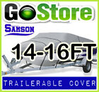 BUY SAMSON BOAT COVER TRAILERABLE HEAVY DUTY 14-16FT