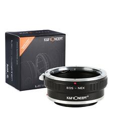 Canon EOS EF lens to Sony E mount tripod adapter NEX-7 5T A7 A7R A5100 EOS-NEX