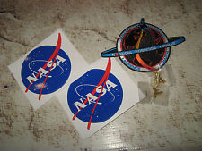 NASA Lot Patch Stickers Shuttle Pins All New USA US