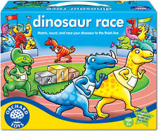 Orchard Toys DINOSAUR RACE Baby/Toddler/Child Board Game Puzzle Education - New