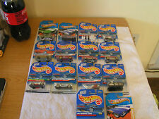 hot wheels lot of 14