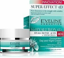 bioHyaluron Concentrated Face Day and Night Cream 40+ for All Skin Types, Also