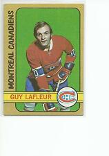 GUY LaFLEUR 1972-73 Topps card #79 Montreal Canadiens VG+