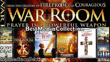 8 Pack - Fireproof Facing The Giants WAR ROOM Flywheel Courageous DVD NEW