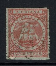 British Guiana - SG# 82 - Used (Top / Bottom Straight Edges)  - Lot 061316