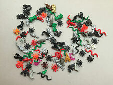 HUGE LOT OF 100 LEGO ANIMALS SPIDERS SNAKES SCORPIONS MINFIG D138