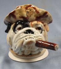 Bulldogge bulldog hund porzellanfigur porzellan figur terrier hundefigur ens