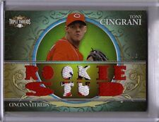 "2013 TRIPLE THREADS - TONY CINGRANI ""ROOKIE STUD"" PRIME RELIC #8/9"