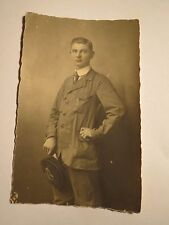 Deutsch Krone ? 1919 - Willi Kuhr als Student oder Schüler - Foto / Studentika