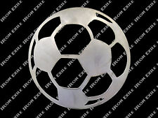 Soccer Ball Metal Wall Art Sign Kids Room Home Decor Sports Team Gift Idea USA