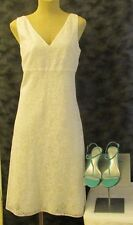 Ann Taylor white dress Sz 10, excellent condition! Think graduation!