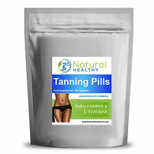 90 Tan Pills New Duo Tanning Tablets Natural Tan & Slim Booster UK Product
