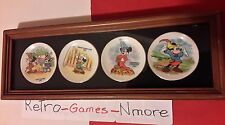 Disney set of small plates, Mickey Mouse, Mickey Club DisneyWorld, set of 4 Nice