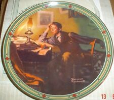 Knowles American Fine China A YOUNG MAN'S DREAM Norman Rockwell #2
