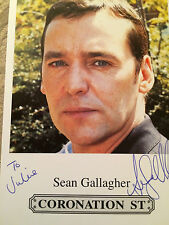 6x4 Hand Signed Photo of Coronation Street Paul Connor - Liam Gallagher